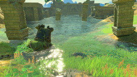 Игра для Nintendo Switch. The Legend of Zelda: Breath of the Wild в аренду