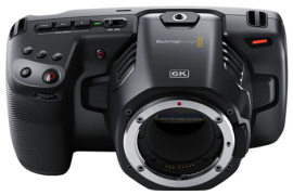 Видеокамера Blackmagic Pocket Cinema Camera 6K EF в аренду