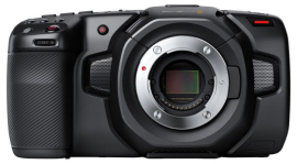 Видеокамера Blackmagic Pocket Cinema Camera 4K MFT в аренду