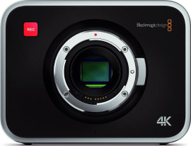 Видеокамера Blackmagic Production Camera 4K EF в аренду