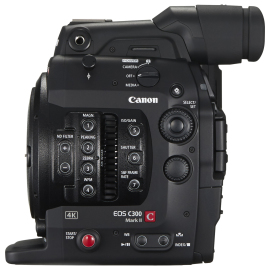 Видеокамера Canon C300 Mark II EF-Mount в аренду
