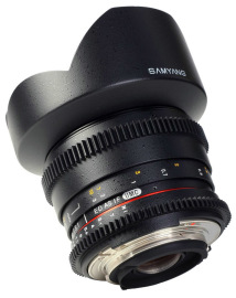 Объектив Samyang 14 T3.1 VDSLR ED AS IF UMC Canon в аренду