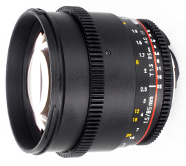 Объектив Samyang 85 T1.5 VDSLR AS IF UMC Canon в аренду