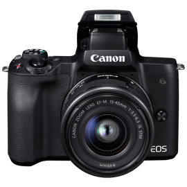 Системный фотоаппарат Canon EOS M50 EF-M15-45 IS STM Kit Black в аренду
