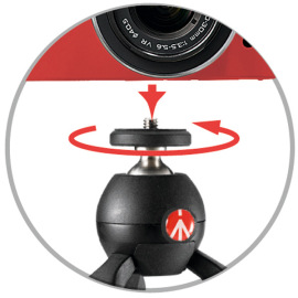 Штатив Manfrotto Pixi Mini Tripod Black в аренду