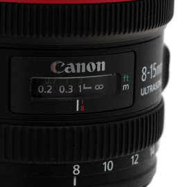 Объектив Canon EF 8-15mm f/4L Fisheye USM в аренду