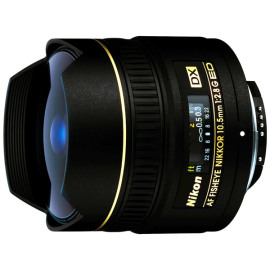 Объектив Nikon 10.5mm f/2.8G ED DX Fisheye-Nikkor в аренду